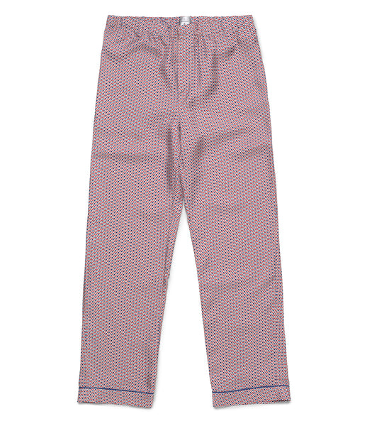 French Wave Silk Pyjama Trousers - All At Sea Cph