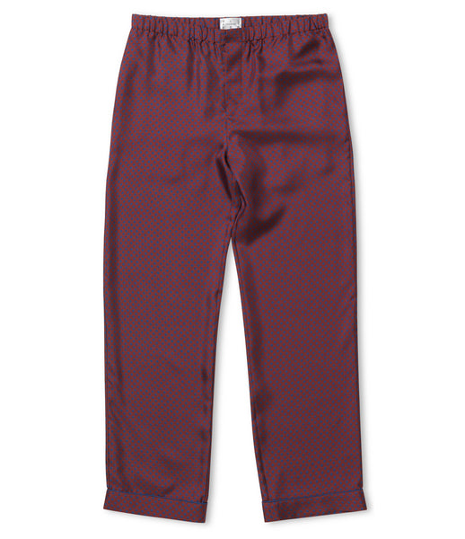 Gentleman Square Silk Pyjama Trousers