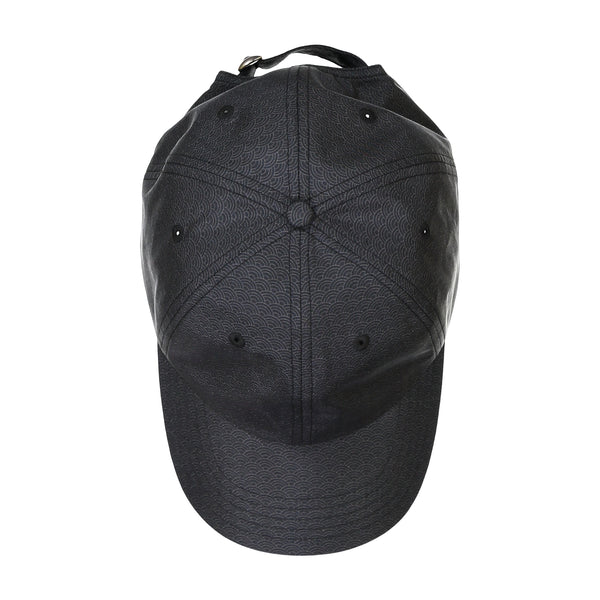 Black Wave Silk Cap