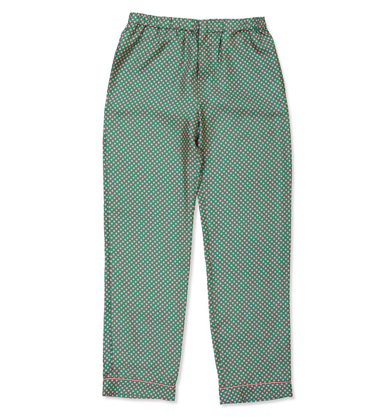 Pink & Green Square Pyjama Trousers - All At Sea Cph
