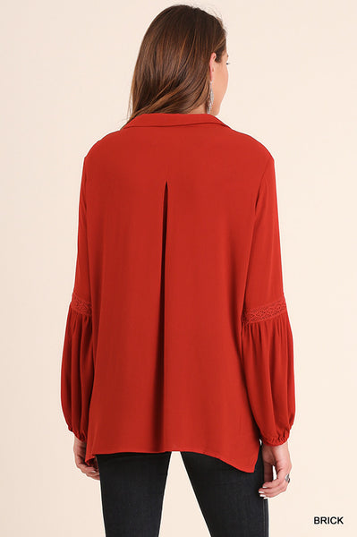 Brick Bishop Blouse
