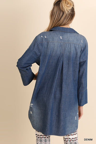 Denim Tunic