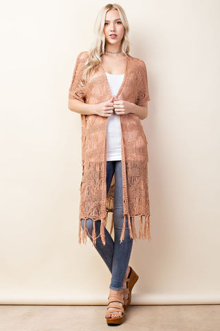 Dusty Duster Cardigan