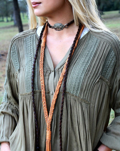 Palomino Fishtail Braid & Tassel