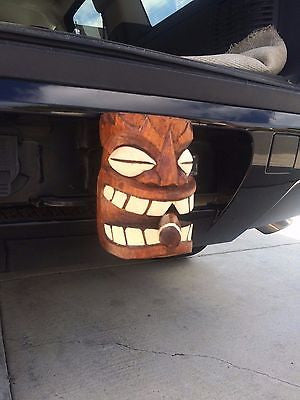 NEW Cigar Smoking Trailer Hitch receiver insert Hawaii Smokin Tikis