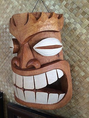 NEW Tiki Mask / Sconce bar not a mug Hawaii Smokin Tikis