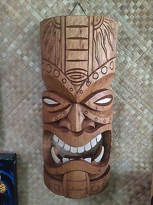 NEW Fang Tiki Mask bar Hawaii Smokin Tikis  f1