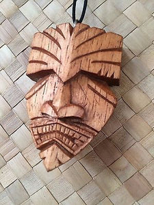 NEW Swampy Tiki Mask Pendant necklace bar not a mug Hawaii Smokin Tikis