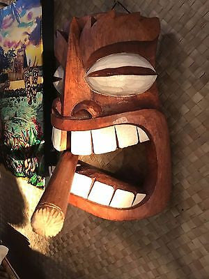 New Cigar Tiki Mask Smokin' Tikis Hawaii