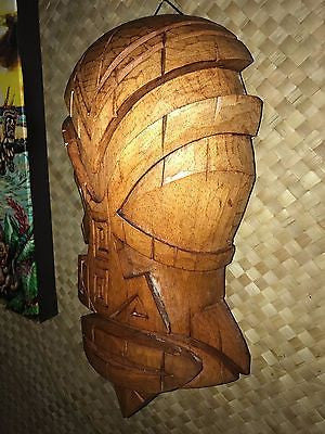 New Marquesan Tiki Mask by Doug Horne and Smokin' Tikis Hawaii 1211f