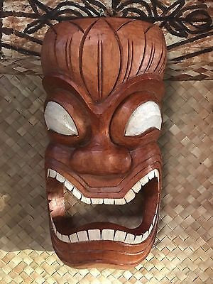 New Ku Towell Holder Tiki Mask Smokin' Tikis Hawaii 1211a