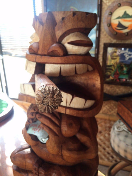 NEW Tiki Bottle Opener with cigar