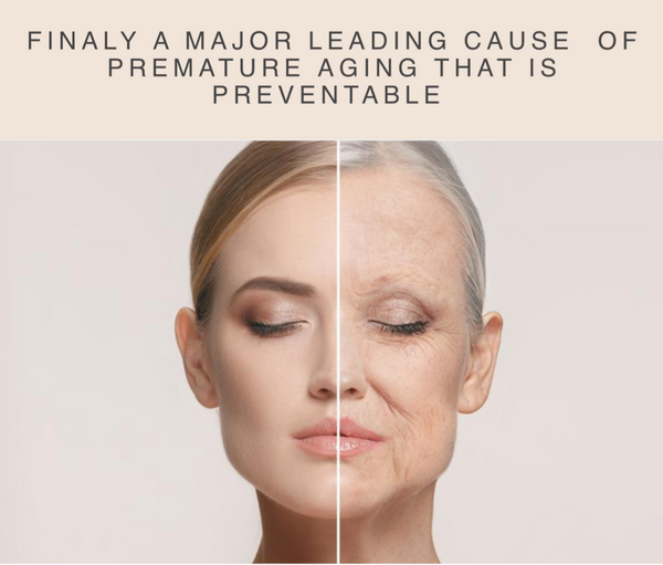 You can help prevent one of the major causes of premature aging