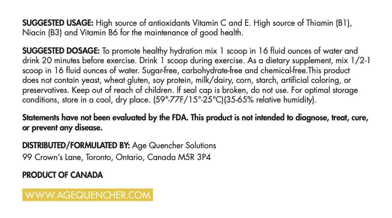 Age Quencher® System - AGE QUENCHER™ Solutions USA