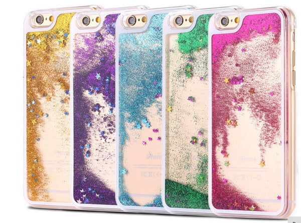 Husa Liquid Glitter iPhone