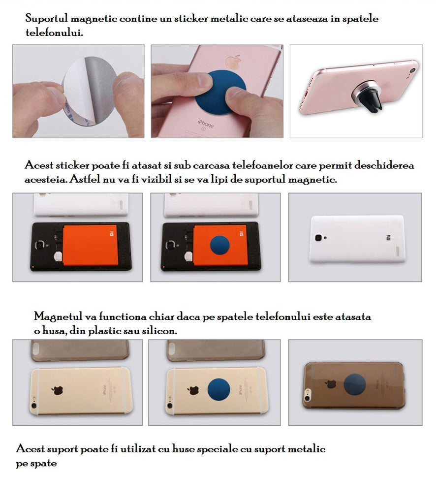 Suport Magnetic Auto Universal