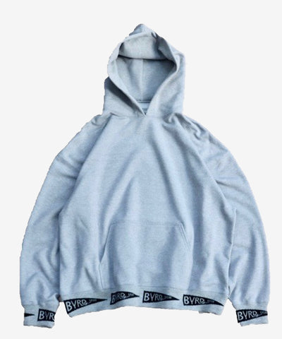 RIB PULL-OVER HOODIE