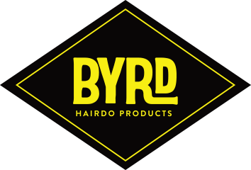 BYRD HAIRDO PRODUCTS RHOMBUS STICKER