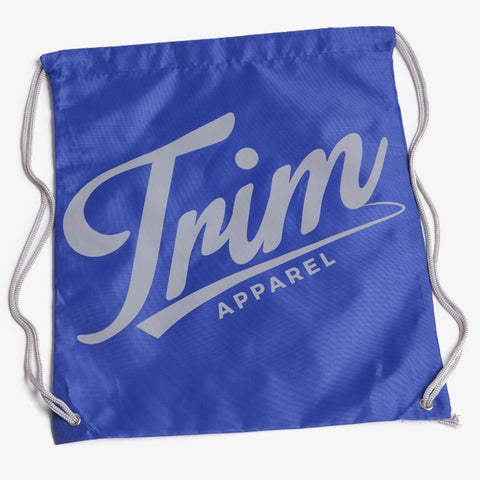 ICON DRAWSTRING BAG - BLUE - TRIM APPAREL