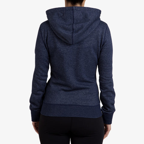 PRO-FIT FULL ZIP HOODY - NAVY MARLE - TRIM APPAREL