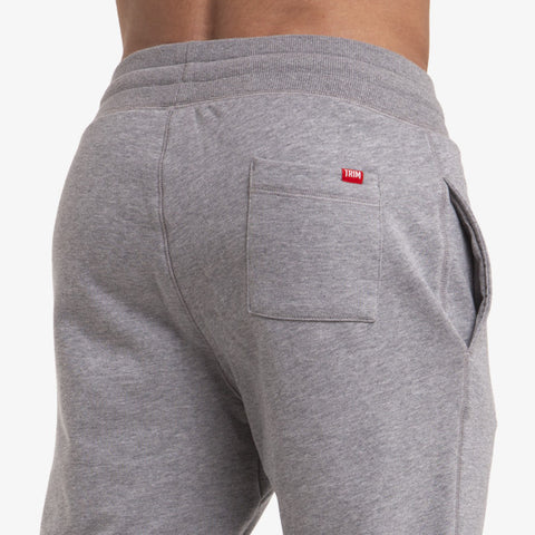 PRO-FIT TAPERED JOGGERS - MARLE GREY - TRIM APPAREL