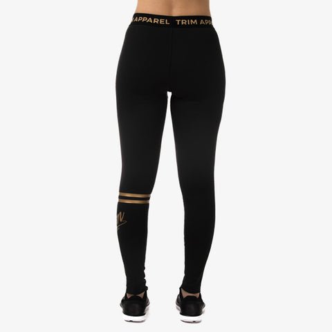 GOLD EDITION LEGGINGS - RINGS - TRIM APPAREL