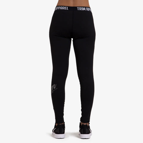 ULTIMATE LEGGINGS BOLD - BLACK - TRIM APPAREL