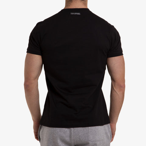 ICON T-SHIRT - BLACK - TRIM APPAREL