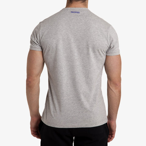 ICON T-SHIRT - MARLE GREY - TRIM APPAREL
