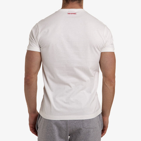 ICON T-SHIRT - WHITE - TRIM APPAREL