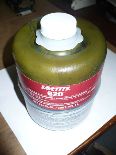 Loctite 620 High Temperature Retaining Compound 62085 Exp 12 08 1 L Southwest Virginia Surplus