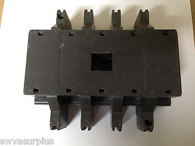1 pc  Westinghouse Size 3 or 4 4 Pole Contactor Lid, New