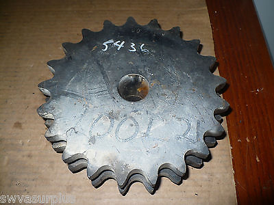 Unknown Manufacturer 100L21H Double Roller Sprocket, Stock Bore, New