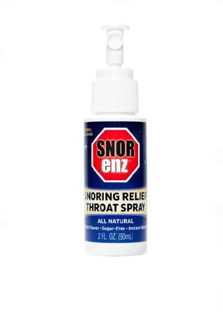 Snorenz: Snore Relief Throat Spray, Mint - MedGen, Inc.