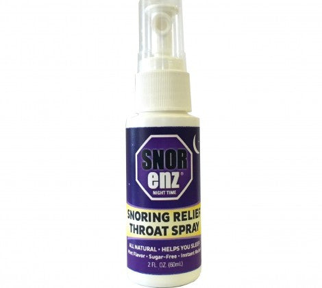 Snorenz Night-Time: Snoring Spray with Melatonin,Valerian Root, Kava Kava & Chamomile - MedGen, Inc.
