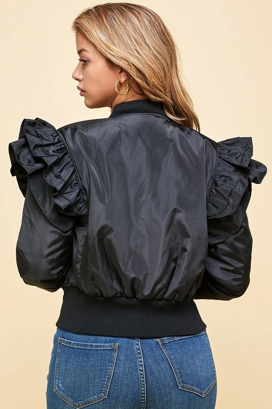 Ruffle My Shoulder Bomber