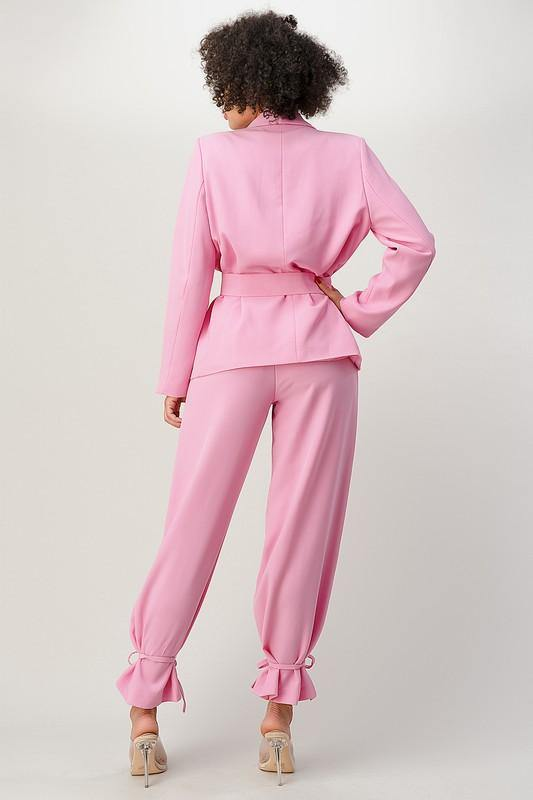 Pretty In Pink Pants Set