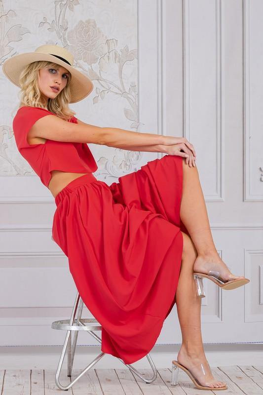 Such A Lady in Red