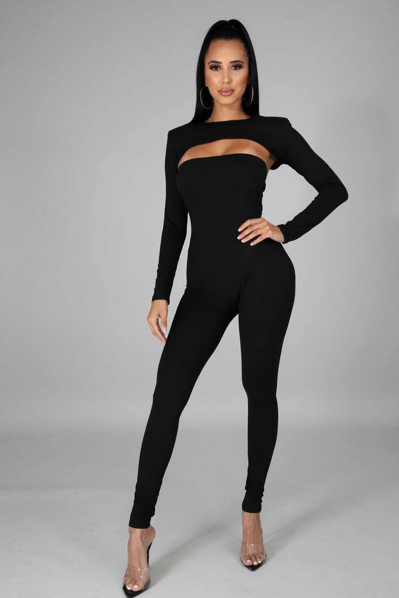 Bianca Jumpsuit in Black