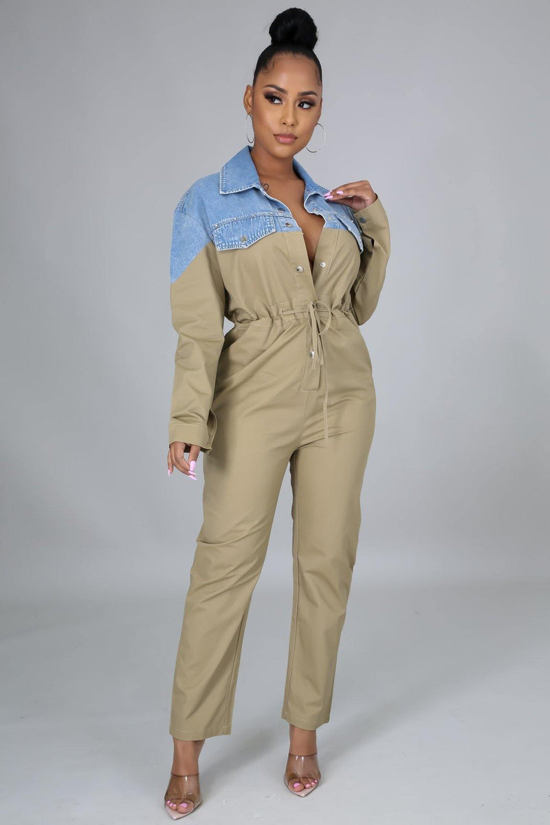 Combination Jumpsuit
