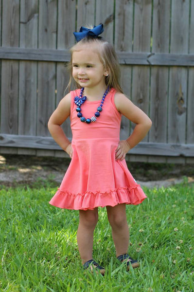 Dress Set - icings, ruffles, truffles, ruffle leggings, icings leggings, ruffle tops, icing tops, icing shirts, ruffle dresses