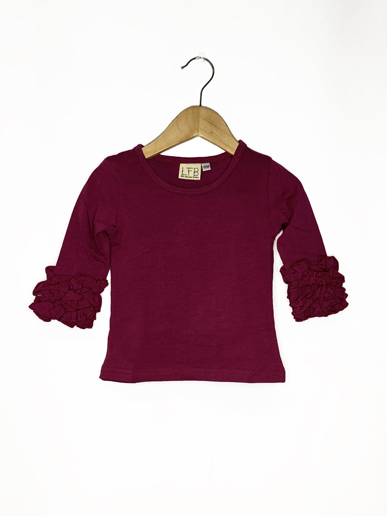 Plum Icing Long Sleeve Top