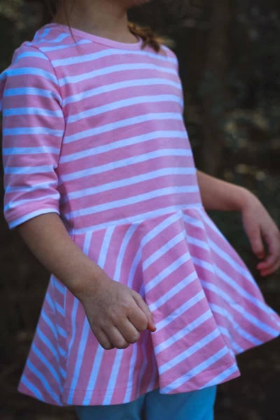 Short Sleeve Tops - icings, ruffles, truffles, ruffle leggings, icings leggings, ruffle tops, icing tops, icing shirts, ruffle dresses