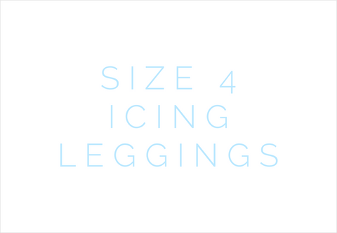 Size 4 Icing Leggings