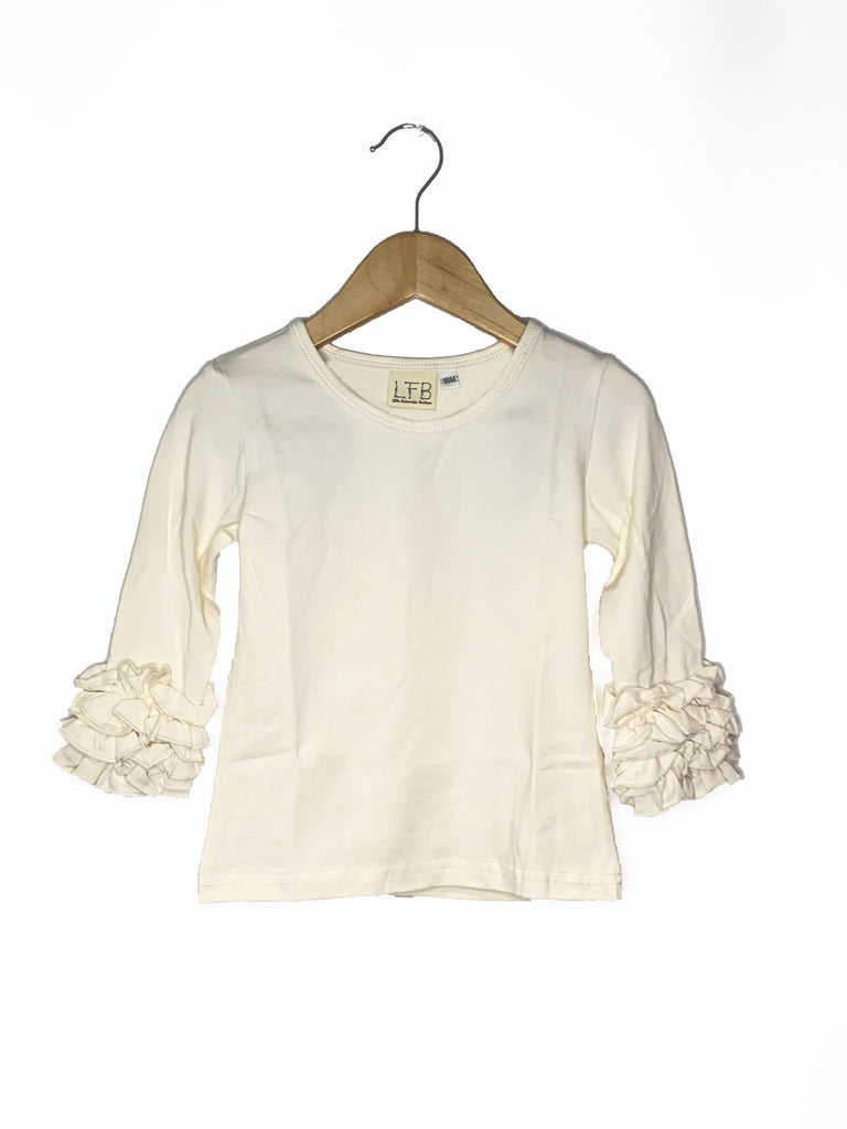 Ivory Icing Long Sleeve Top