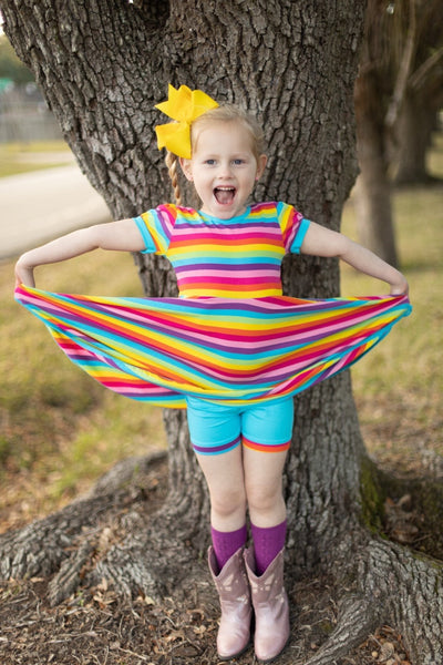 Shorties - icings, ruffles, truffles, ruffle leggings, icings leggings, ruffle tops, icing tops, icing shirts, ruffle dresses