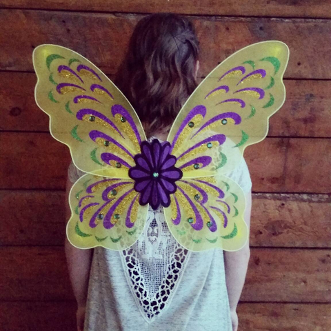 "24"" Adult Butterfly Wings - Gold"