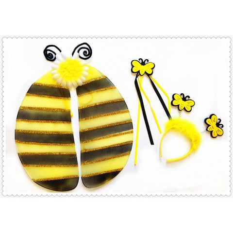 Bumblebee Wing, Wand & Headband Set