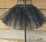 Black Sparkly Tutu Skirt