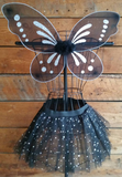 Black Pixie Fairy Wings
